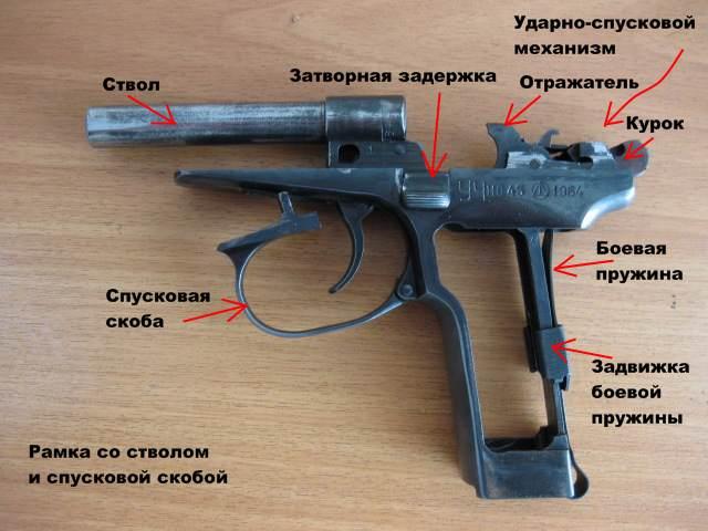 Боевой пистолет своими руками